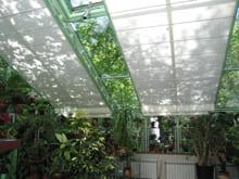 Солнцезащитные шторы для зимних садов