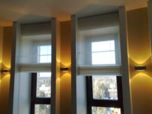 Автоматические электрические карнизы для подъемных штор