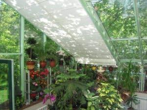 фото штор для зимнего сада